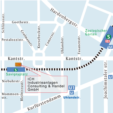 map of Berlin office